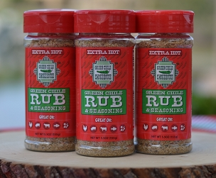 Green Chile Rub EXTRA HOT